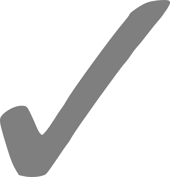Image result for grey check mark
